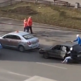 Bus Car Towing Fail! Russian driver trying to tow a car with a Bus. Unlucky russian driver trying to start a car with a trolleybus. Epic towing fail. This is […]
