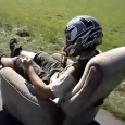This Sofa Car is great fun on road. Motorized Couch Armchair Car on the road! That man gives us an invention so we never have to get off the sofa… […]