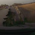 A russian driver almost lost the ground under his feet when a section of the road over a bridge collapsed right in front of his eyes. So close the front […]