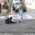 The video features a kind act by good Samaritans in Italy. A man caught on camera walking with a distinctive limp falls on the road. A pedestrian falls in the […]