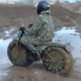 In Russia, a man has built a motorcycle extremely light field can both ride in the sand on the rocks or mud. This russian motorcycle is called Tarus and has […]