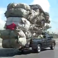 10 Extremely Overloaded Trucks and vans caught on camera. Overloading a truck can be dangerous. With a load beyond its capacity to handle, a truck will brake and steer incorrectly.