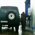 Meanwhile at a Gas Station in Russia… How to Use a Gas Pump!