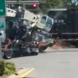 A car was filming as a train crashes into an eighteen wheeler. Terrifying footage of train crashing into stranded truck. A locomotive crashed into a truck stopped at a train-track […]