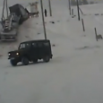 Russian insane Truck Driver! In Russia, Truck Drives You! Out of control truck caught on dashcam…