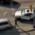 A furious mother attacks a police fugitive after he rams the back of the family car. A high-speed police chase in Texas came to a dramatic end when a furious mother […]