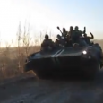 Drunk tank driver FAIL: violent crash! Ukraine war, near miss with a Ukrainian BMP 2. The soldiers on the tank rolling into a ditch at full speed with advancing within […]