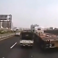 Truck Accident in China – Pickup Truck battle. Accident involving a pickup truck and a big truck in China caught on dashcam.