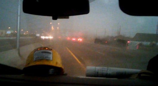 A tornado tore through the Moore, Oklahoma area. The tornado ran along Interstate 35 and flipped over a truck. The wind from the tornado then knocks a semi truck […]