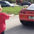 Man pulls his kid's loose tooth with a camaro. A video showing a father in Florida pulling out his son's front tooth after tying him to a car back.