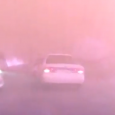 This incredible Russian dashcam footage shows a car driving through a forest fire. Going through a forest fire in a car. Hell is real.