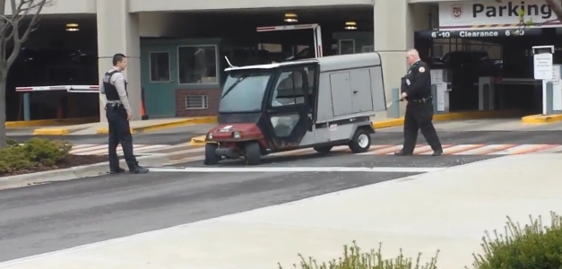 Students at Loyola University, Chicago, got to experience a wild ride on campus April 16, when a campus police golf cart put on a show for passersby. An abandoned golf […]