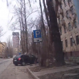 Crazy Car and Tree accident in Russia. A large tree falls on a Russian road damaging a car caught on dashcam.