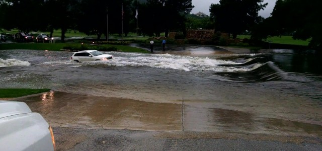 Car swept away in Boerne, TX flood May 23, 2015. A white Jeep Cherokee tried to cross the creek as was washed away in the flood. Watch this jeep get […]