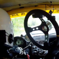 Rally driver loses his Steering wheel during a race…