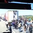 A shoking video caught rioting migrants breaking into a truck as the vehicle queued to get into the Port of Calais. This is the shocking moment migrants surround a passenger […]