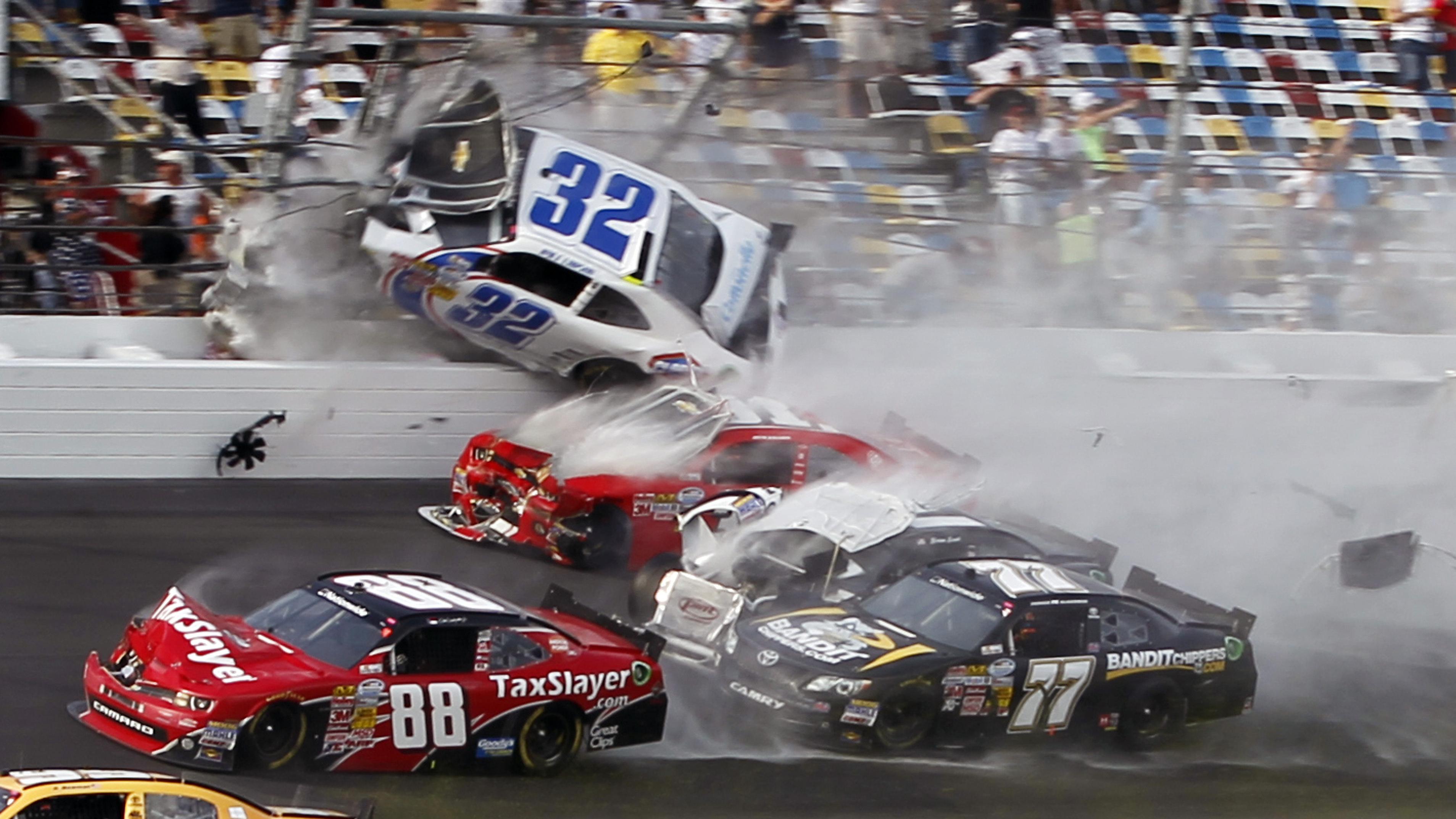 Top 10 NASCAR Crashes 2016 (HD) - YouTube