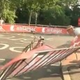 Postman freaks out over Tour de France road closure. A Dutch postman was not going to let a Tour De France roadblock stop him from completing his route. A postman […]