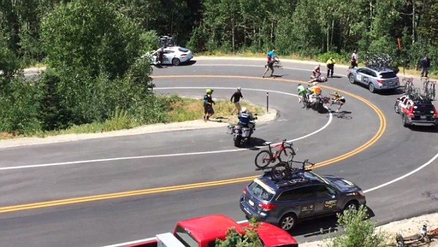 Tour Of Utah Bike Crash