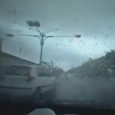 Tornado in Tainan, TAIWAN. Typhoon Soudelor is now bringing rain to the coast of China. In Taiwan it produced more than 50 inches of rain in some places.