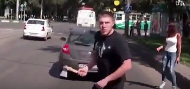 Road rage leads to man bringing out an axe and shooting his gun in Russia. A road rage incident in Russia took a terrifying turn when a man involved pulled […]