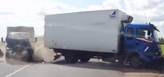 The latest complete truck accidents video compilation 2015 around the world. New videos uploaded every week with original sound only. Visit Videos on the road Collection Youtube channel. Please be […]