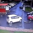 Driver fails at exiting parking lot. A driver takes an incredibly long time trying to exit a parking lot. He smashes a number of cars, then just drives off like […]