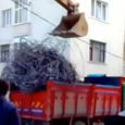 Excavator at Work, Truck Loading Fail! Excavator overloading a dump truck…